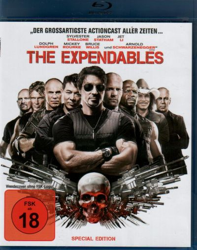 Expendables, The - blue ray disc