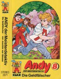 Andy der Meisterdetektiv -8- Die Geldfälscher - MC