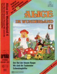 Alice im Wunderland -4- Der Rat der blauen Raupe - MC
