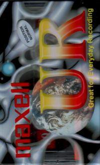 Maxell UR - Leerkassette -OVP- MC