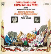 Karneval der Tiere - Orchesterführer Für Junge Leute - LP