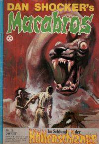 Macabros -19- von Dan Shocker - Romanheft