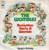 Wombles, The - Remember You're A Womble - Singel