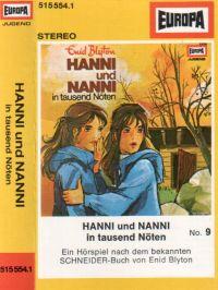 Hanni und Nanni -09- in tausend Nöten - MC