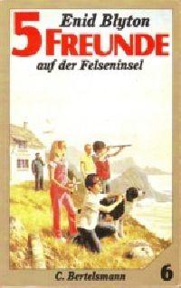 5 Freunde auf der Felseninsel - Buch