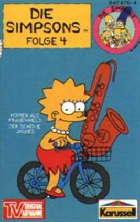 Simpsons, Die -4- Homer als Frauenheld / Der schöne Jques - MC