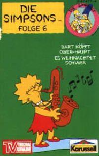 Simpsons, Die -6- Bart köpft Ober-Haupt / Es Weihnachtet schwer