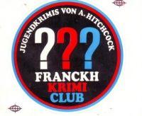 Drei ??? - Franckh Krimi Club - Aufkleber